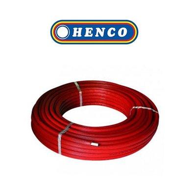 Henco meerlagenbuis met mantel 16x2mm 25M rood